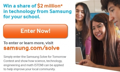 Apply Now for Samsung's Solve for Tomorrow Contest!